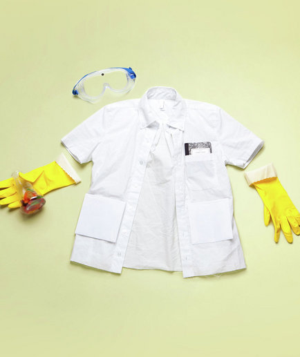 Lab Coat Decorating Ideas