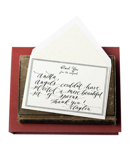 Etiquette For Sending Wedding Gift Thank You Notes : Long Do I Have to Send a Thank-You Note? Top 24 Wedding Etiquette ...