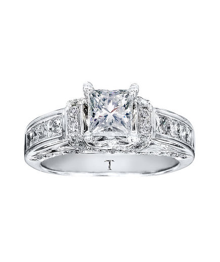 Engagement Rings Kay Jewelers: Tolkowsky Diamond Engagement Ring For Kay Jewelers