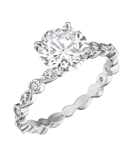 Mimi So Madrid MM Diamond Engagement Ring