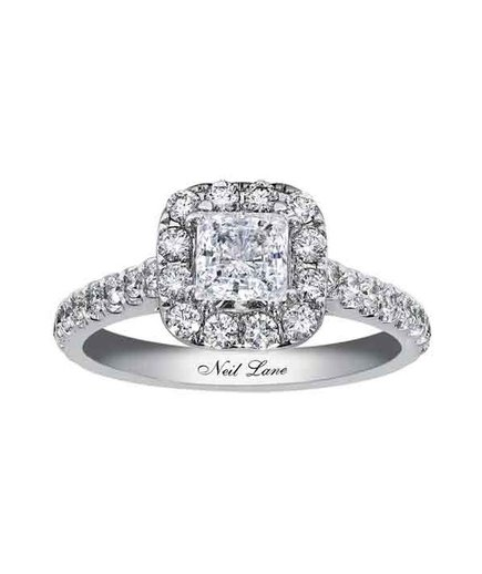 Neil Lane Princess Diamond Engagement Ring for Kay Jewelers
