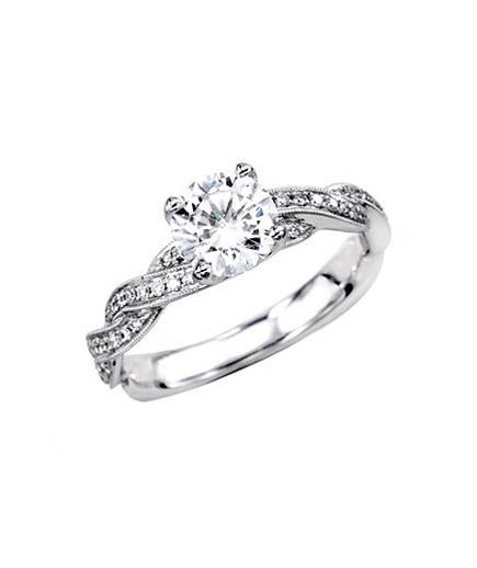 Simon G Fabled Collection MR1498 Engagement Ring