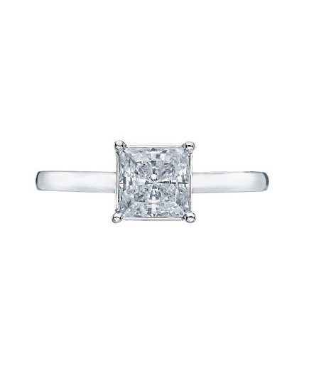 tacori sculpted crescent princess cut engagement ring 71