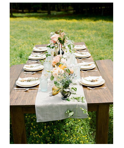 On the Grass  Backyard Wedding Ideas  Real Simple