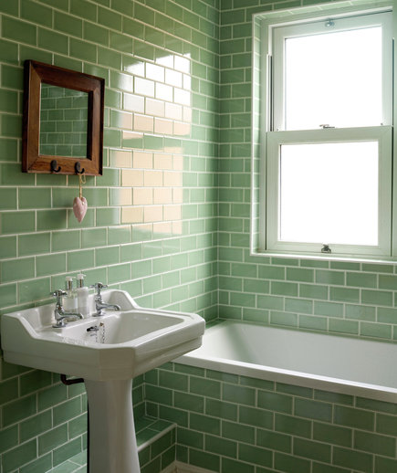 Going green 15 great bathroom design ideas real simple for Real simple bathroom ideas