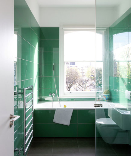 sea of green 15 great bathroom design ideas real simple