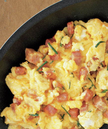 Eggs With Ham, Cheddar, and Chives | 10 Easy Breakfast Recipes for ...