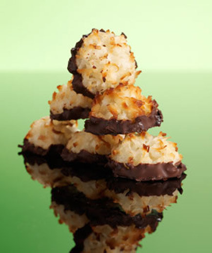 Chocolate-Dipped Coconut Macaroons | 20 Delicious Cookie Recipes ...