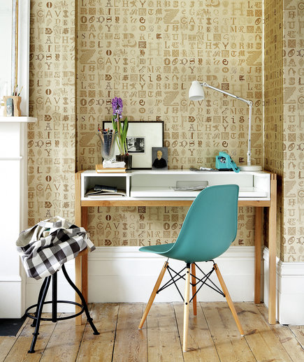 Office Den Decorating Ideas: 17 Surprising Home Office Ideas - Real Simple