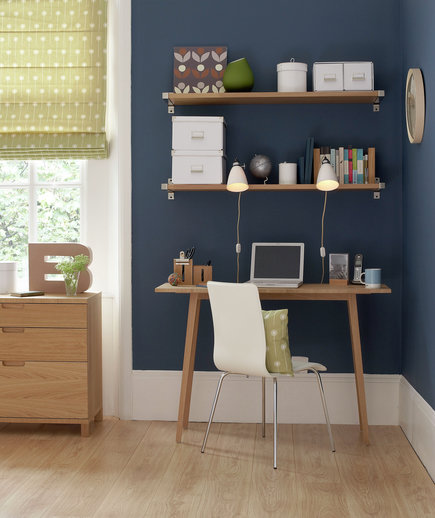 Study Room Color Ideas: 17 Surprising Home Office Ideas