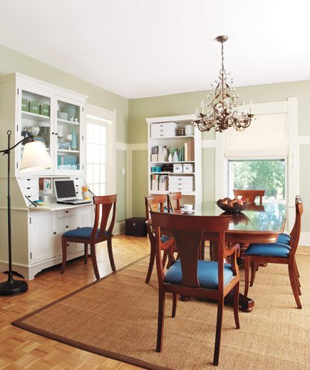 dining room home office | Home Office/Dining Room | Get Organized With These Home ...