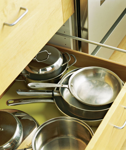 Kitchen Organization Ideas For Pots And Pans: 24 Smart Organizing Ideas For