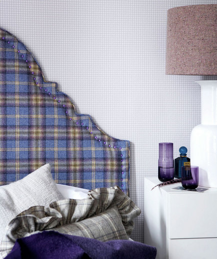 plaid-textured-headboard