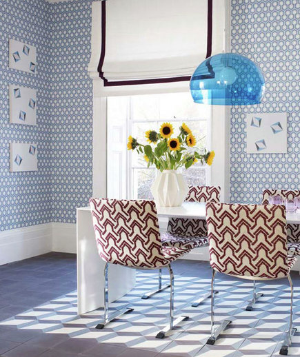 Dining Room Wall Paper: 24 Fabulous Wallpaper Designs - Real Simple