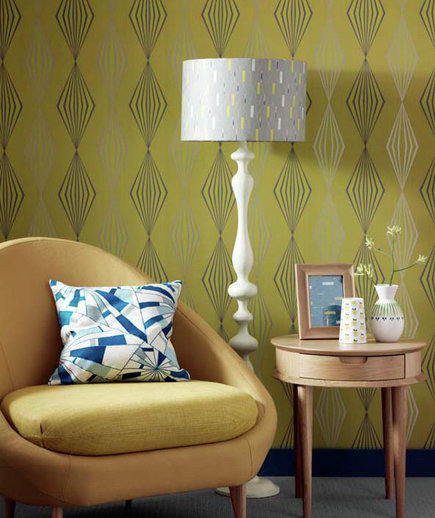 Striking 24 Fabulous Wallpaper Designs Real Simple