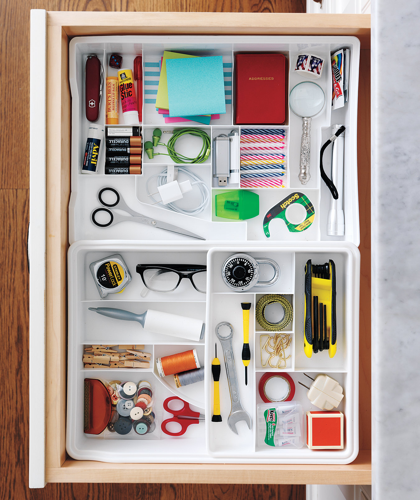 Organization Ideas For Junk Drawers