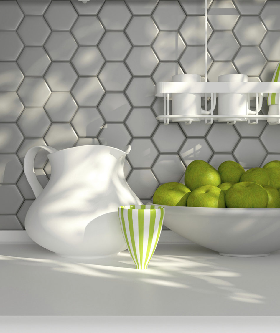 Kitchen Wallpaper Backsplash: How To Spruce Up Your Rental Kitchen