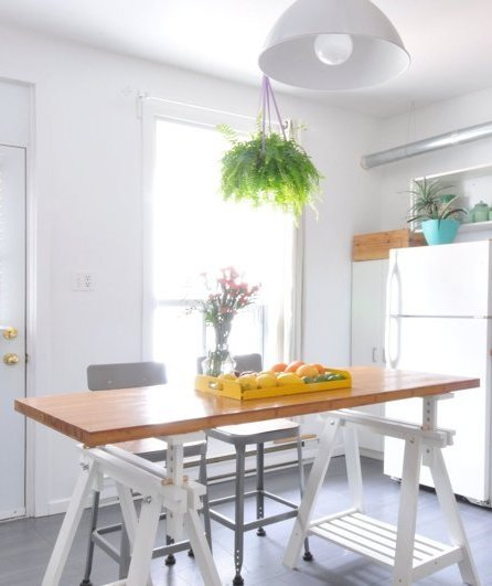 Creating A Kitchen Island: 8 Ways To Create Extra Counter Space In A Tiny Kitchen