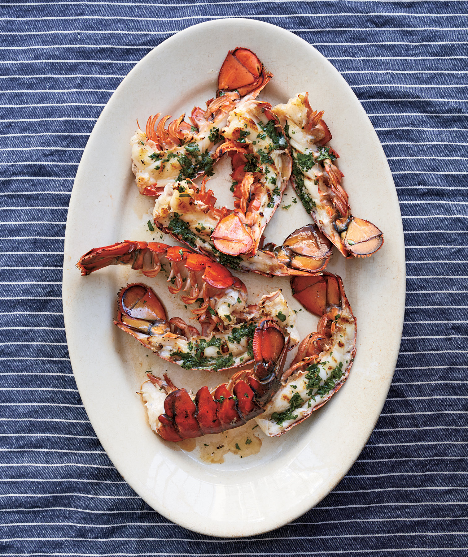 lobster-tails-cilantro-butter