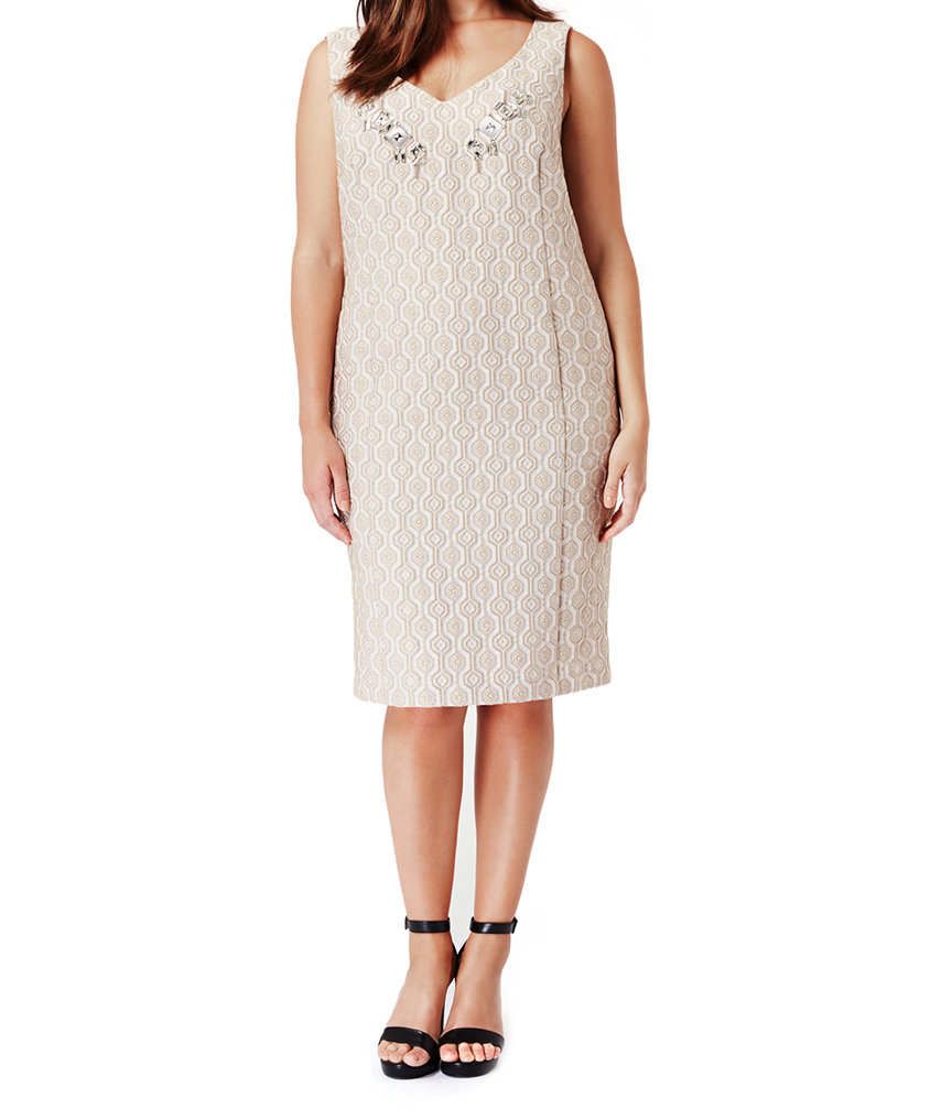 Where to buy chic mother of the bride dresses real simple for Marina rinaldi wedding dresses