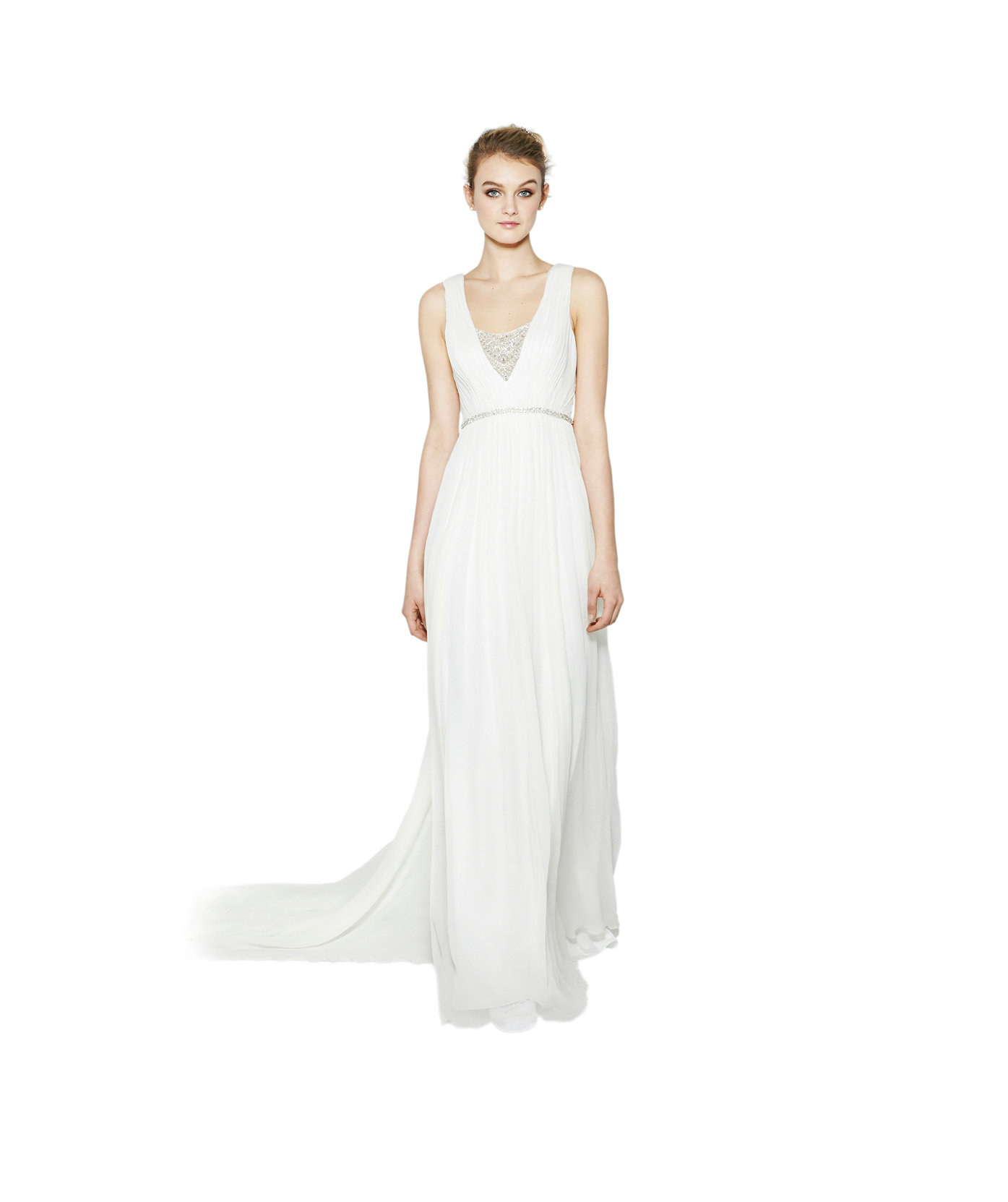 Nicole miller 39 millie 39 stunning off the rack wedding for Real simple wedding dresses