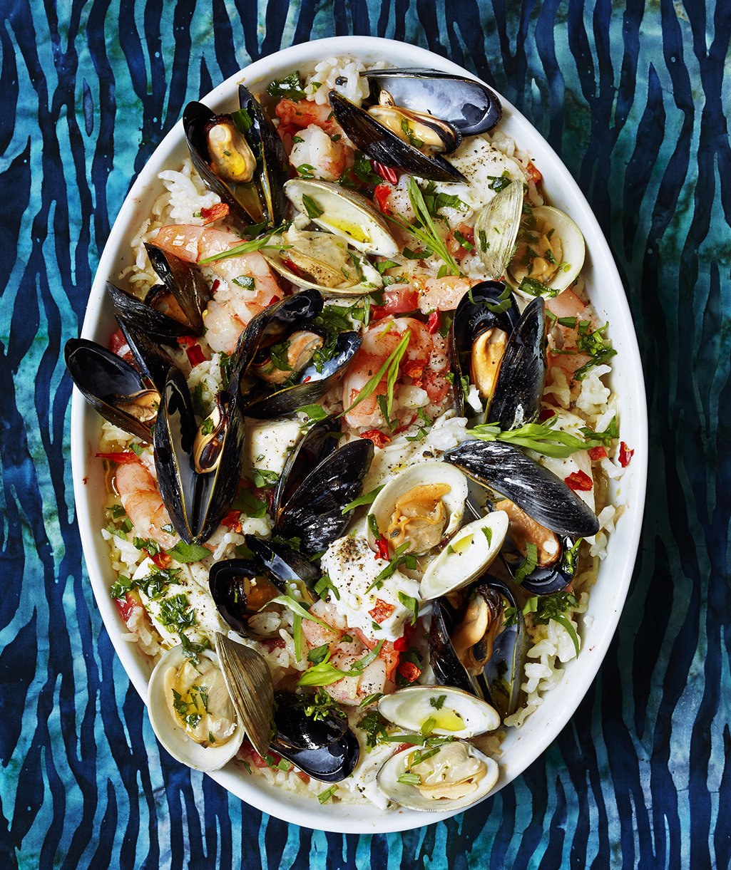 no-stir-seafood-risotto