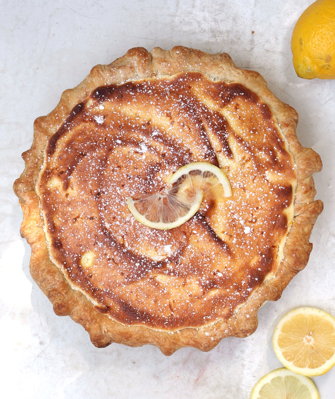 apricot-lemon-sponge-pie