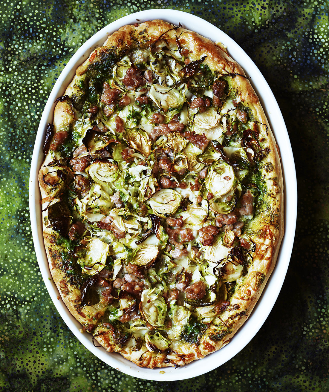 deep-dish-pizza-turkey-sausage-brussels-sprouts