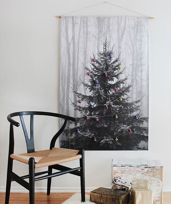 Christmas Tree Facebook Cover Photo: How To Decorate For Christmas Without A Tree