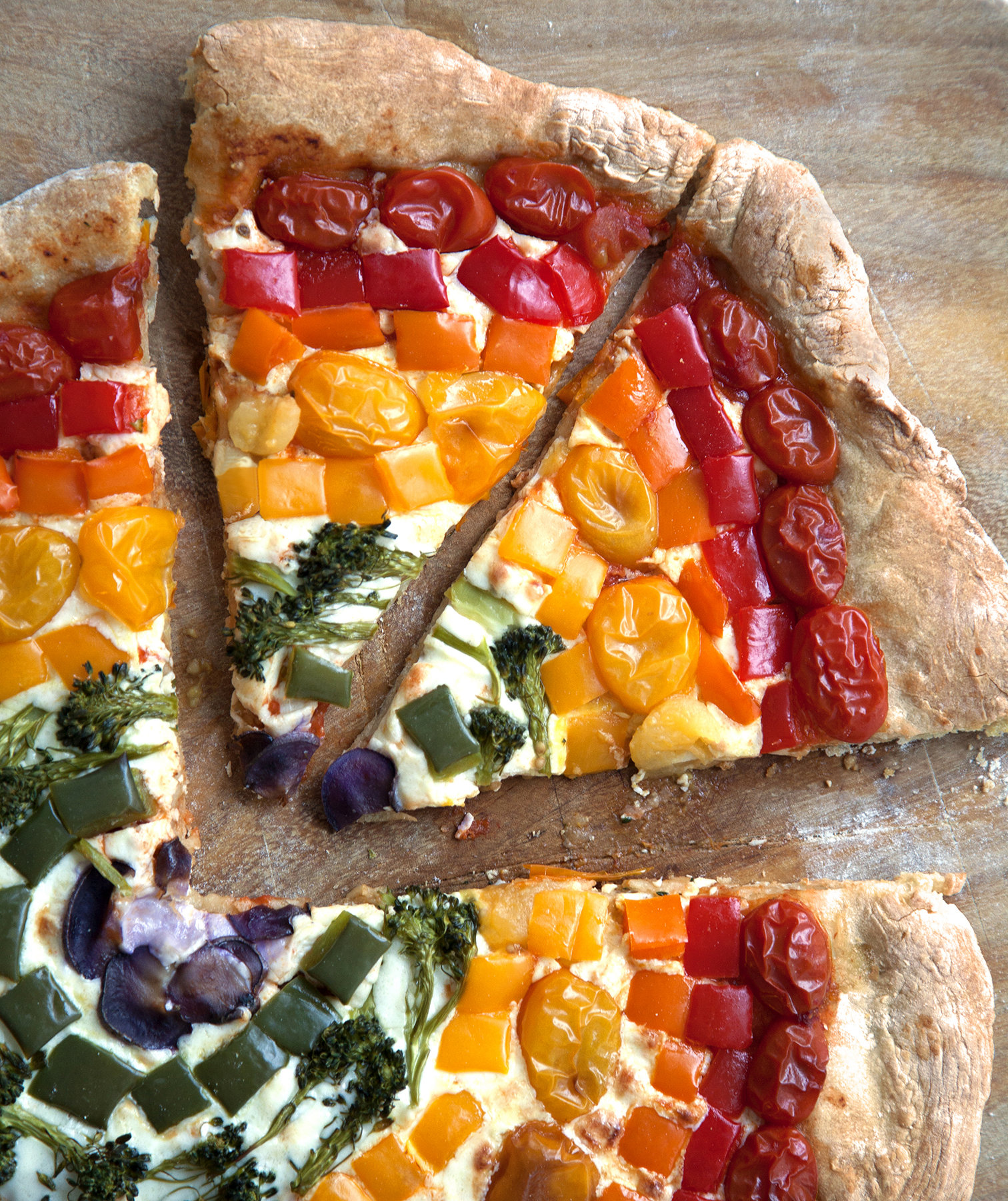 rainbow-pizza