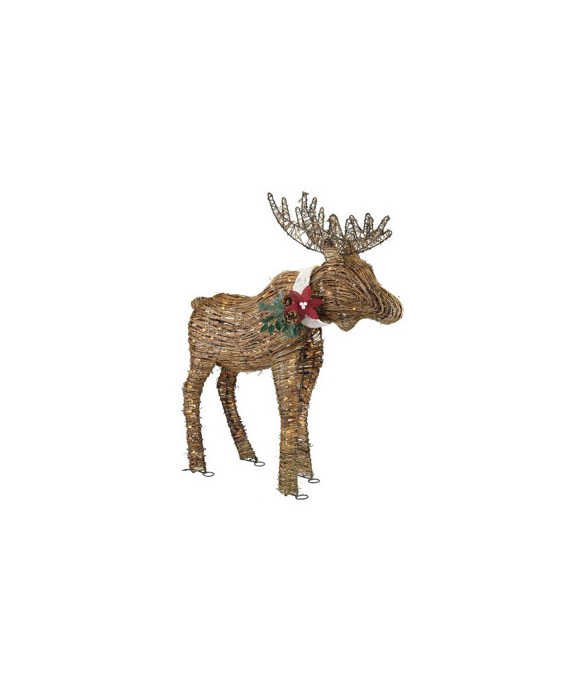 Christmas Outdoor Decorations Target: Holiday Lighted Rattan Moose