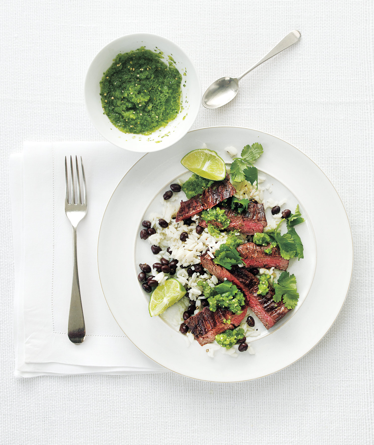 rice-beans-steak-tomatillo