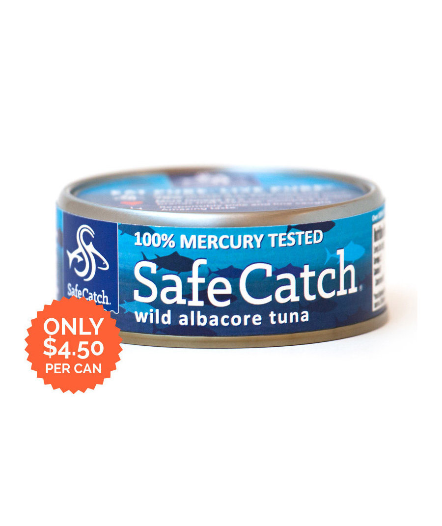 Safe catch mercury free tuna 7 seafood staples that will for Tuna fish brands
