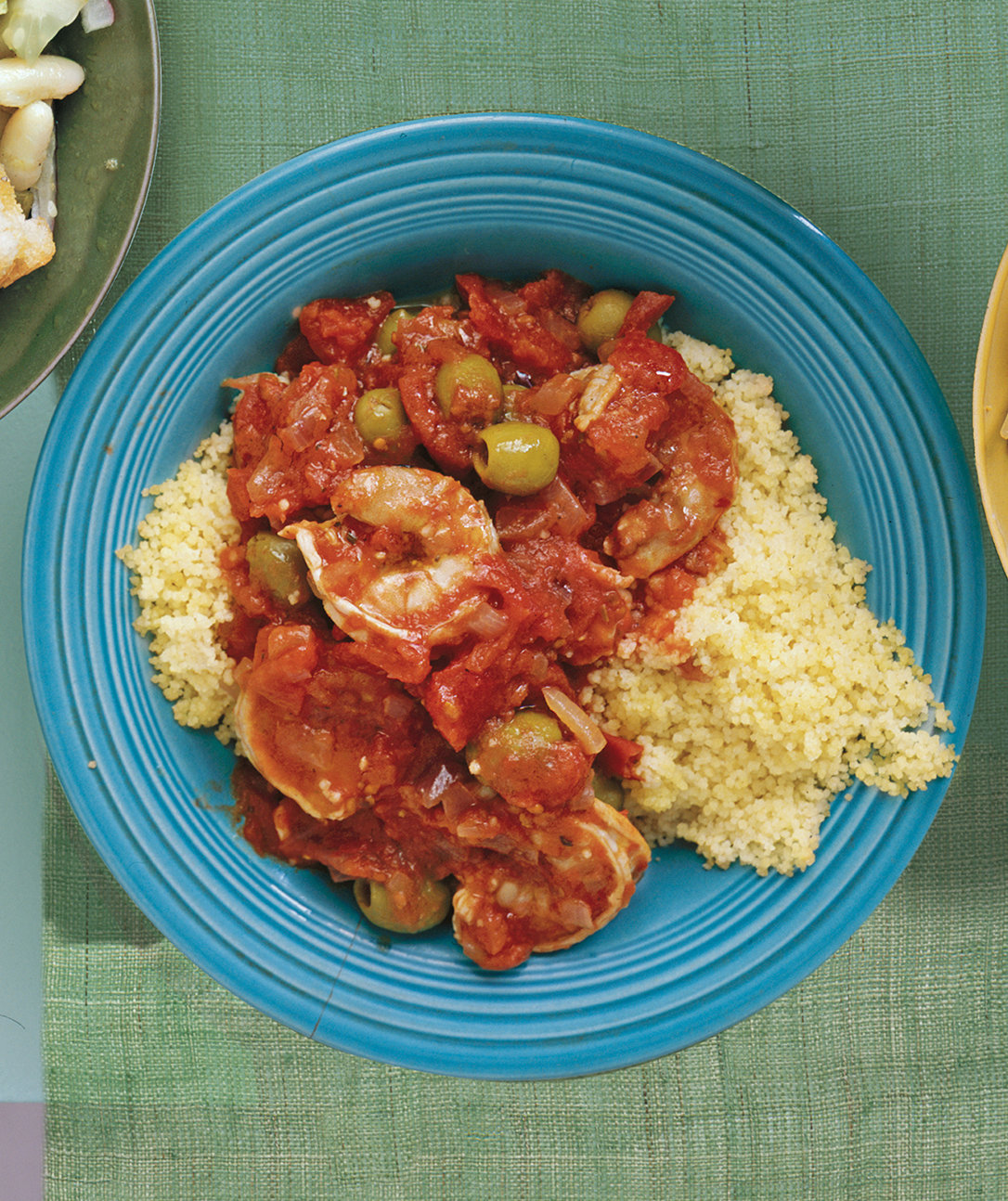 Easy And Fast Dinner Ideas: Shrimp With Tomatoes And Olives