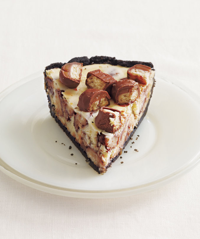 twix-cheese-cake-pie