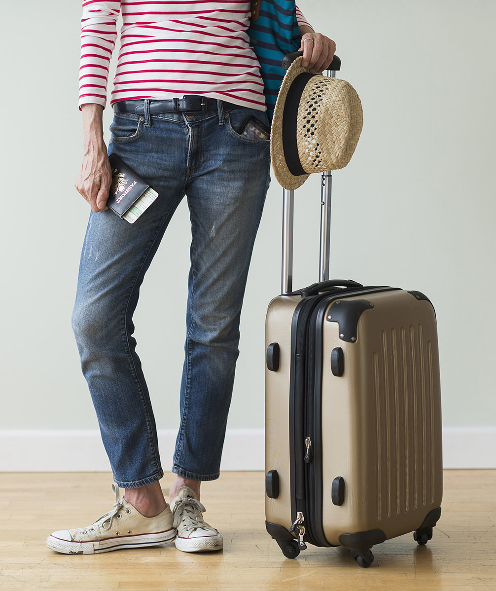 Carry on luggage rules real simple How to pack a carry on suitcase video