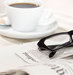 coffee-glasses-newspaper