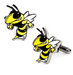 yellowjacket-cuff-links