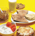 skim-milk-corn-flakes-cottage-cheese-english-muffin-pita