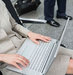 businesswoman-laptop-airport