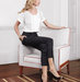 black-cropped-slacks-white-blouse