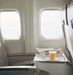 orange-juice-book-airplane-tray