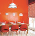 dining-room-orange