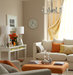 living-room-orange-accents