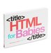 html-for-babies-book