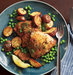roasted-chicken-potatoes-peas