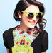 green-rim-sunglasses-floral-shirt