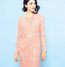 sherbet-colored-long-sleeve-dress