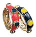 resin-enamel-metal-bangles