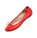 red-faux-leather-flats